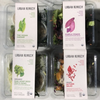 Gluten-free organic meals by Urban Remedy
