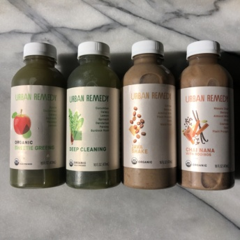 Gluten-free cold-pressed juices by Urban Remedy