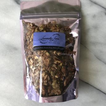 Gluten-free paleo granola by Lavender Lane Baking Co
