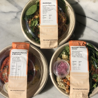 Gluten-free bowls by Everytable
