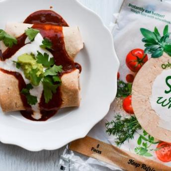 Delicious gluten-free Kaliwonder wrap