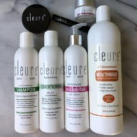 Gluten-free hair care and body care products by Cleure
