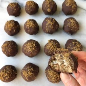Gluten-free dairy-free Gingerbread Truffles