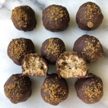 Delicious GF Gingerbread Truffles