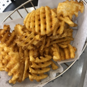 Gluten-free fries from Marinara Pizza
