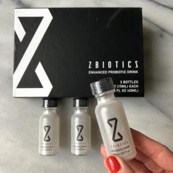 Enhanced probiotic drink by ZBiotics