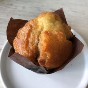 Gluten-free blueberry muffin from Crimson