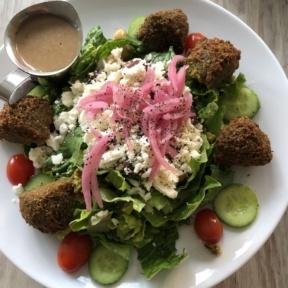 Falafel salad from Crimson