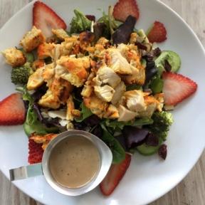 Strawberry salad from Crimson