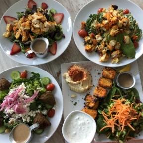 Gluten-free lunch from Crimson