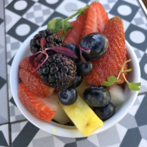 Fruit salad from Society Kitchen