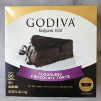 Certified gluten-free flourless chocolate torte by GODIVA