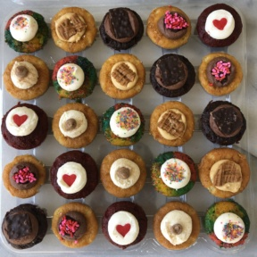 Gluten-free cupcakes from Baked by Melissa