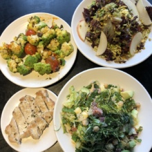 Gluten-free salads and apps from Pizzana