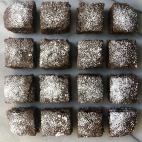 Gluten-free dairy-free Gingerbread Brownies