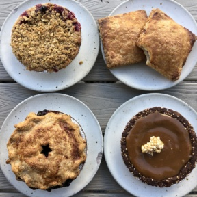Gluten-free pies from Winston Pies