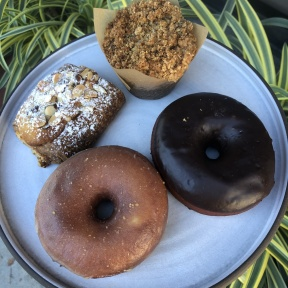 Gluten-free donuts and croissants from Breadblok