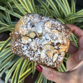 Gluten-free almond croissant from Breadblok