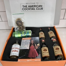 Jackie's box for American Cocktail Co