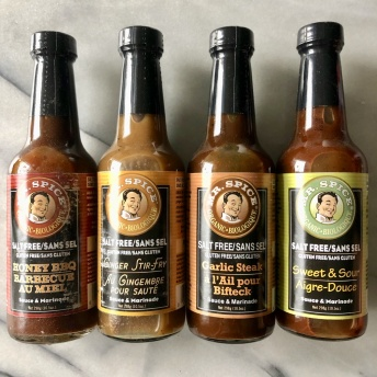 Delicious gluten-free sauces by Mr. Spice