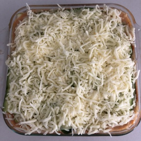 Extra cheese for Zucchini Lasagna with Chicken