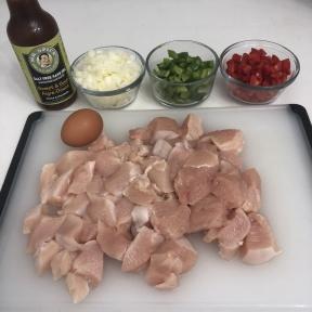 Making Sweet & Sour Chicken over Cauliflower Rice with Mr. Spice