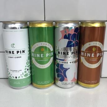 Gluten-free cider by Nine Pin Cider