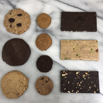 Gluten-free dairy-free cookies and bars by Mom's Munchies