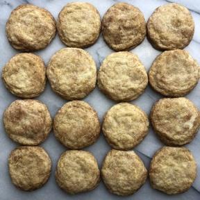 Delicious gluten-free Snickerdoodle Cookies