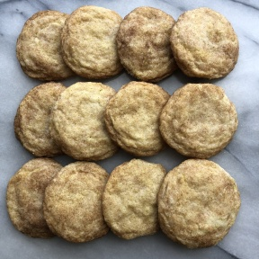 Ready to eat Snickerdoodle Cookies