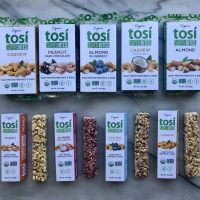 Gluten-free grain-free bars by Tosi