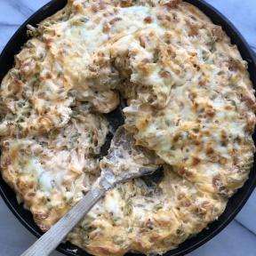 Gluten-free Mac & Cheese Skillet