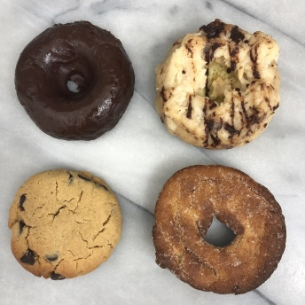 Gluten-free donuts and cookies by Num Gourmet Desserts