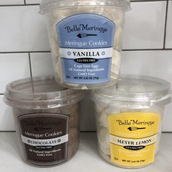 Gluten-free meringue cookies by Belle Meringue