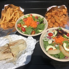 Gluten-free lunch from Garden Catering