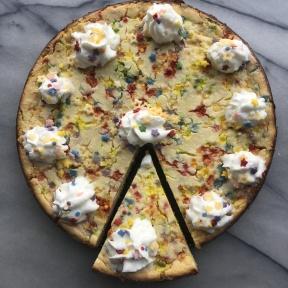 Ready to eat Funfetti Cheesecake