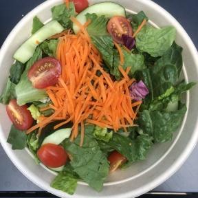 Gluten-free tossed garden salad from Garden Catering