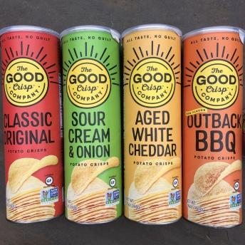 Gluten-free potato crisps by The Good Crisp Company
