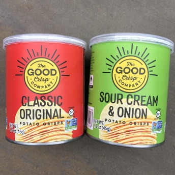 Gluten-free chips by The Good Crisp Company