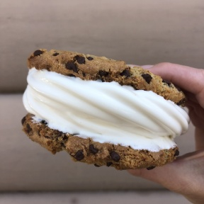 Gluten-free ice cream sandwich from Heibeck's Stand