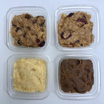 Gluten-free soy-free cookie dough by BeReal Doughs
