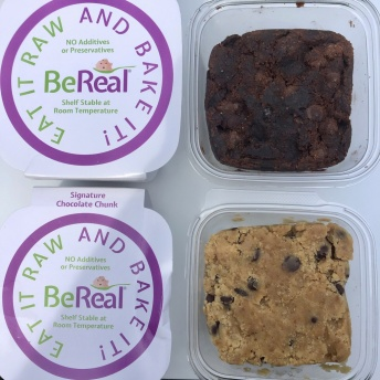 Gluten-free vegan cookie dough by BeReal Doughs