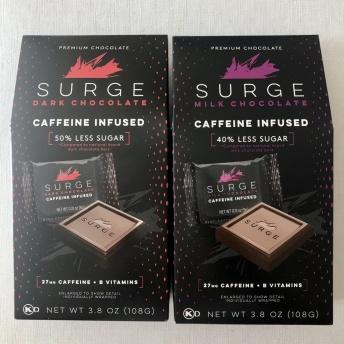 Caffeine-infused chocolate by Surge Chocolate