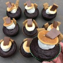 Delicious gluten-free S'mores cupcakes