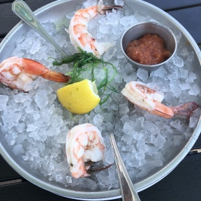 Shrimp cocktail from Harbor Lights