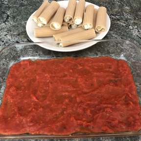 Ready to make Cheese Manicotti