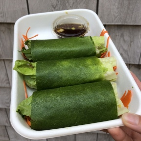 Spring roll from Catch A Healthy Habit Cafe