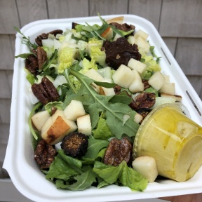 Gluten-free harvest salad from Catch A Healthy Habit Cafe