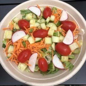 Gluten-free house salad from Press Burger