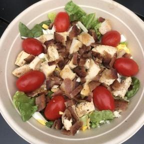 Gluten-free Cobb salad from Press Burger